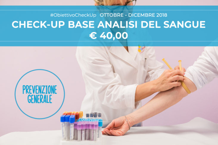 check-up analisi del sangue